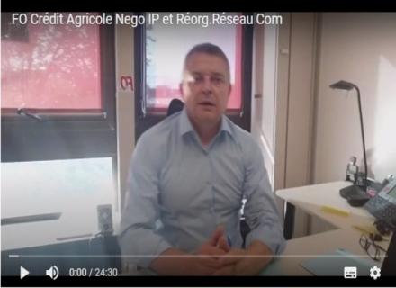 PROJET RÉORGANISATION RÉSEAU COMMERCIAL - NÉGOCIATION ACCORD INTÉRESSEMENT