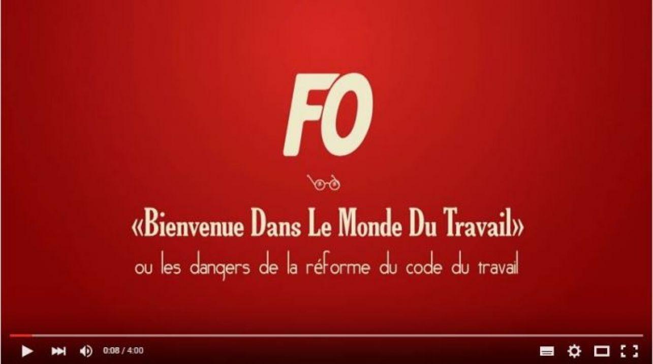 En 4mn...LES DANGERS DE LA RÉFORME DU CODE DU TRAVAIL